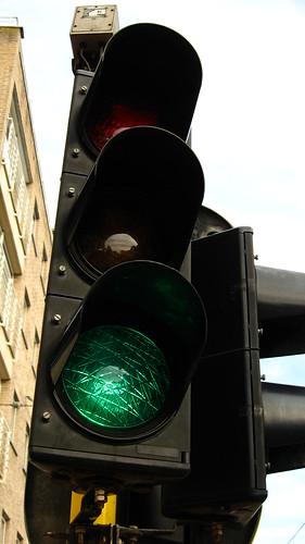 Green for go at Blankenberge