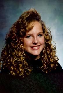 Sarah Ockler, Sophomore with Giant Hair