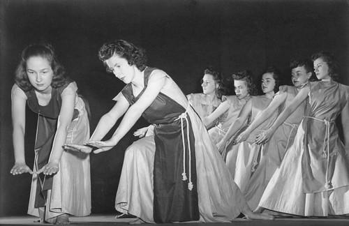 Modern Dance Performance, March 12, 1941