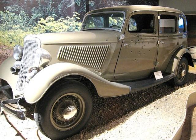 Texas Ranger Museum - Bonnie and Clydes Car