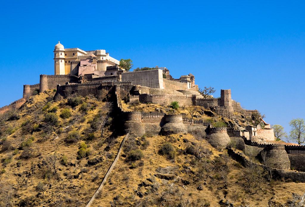 Kumbhalgarh Fort, Udaipur, Rajasthan, India