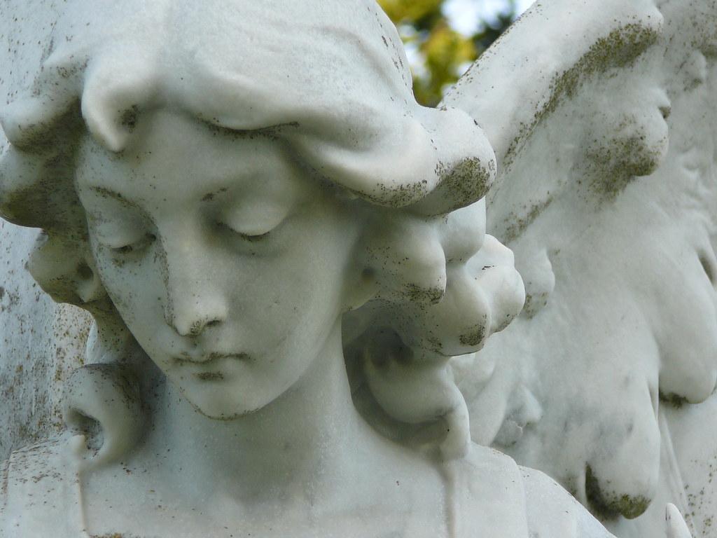 Holy cross cemetary angel