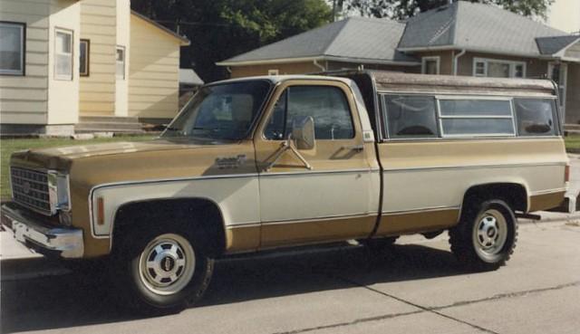 1973 Chevy Cheyenne Pick