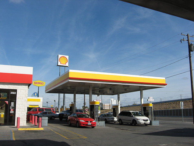 $12 for $25 worth of gas at Shell