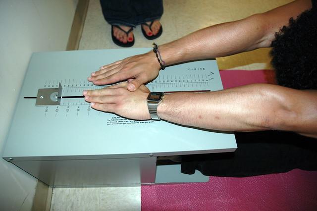 Flexibility Box And Sit Plastic Reach