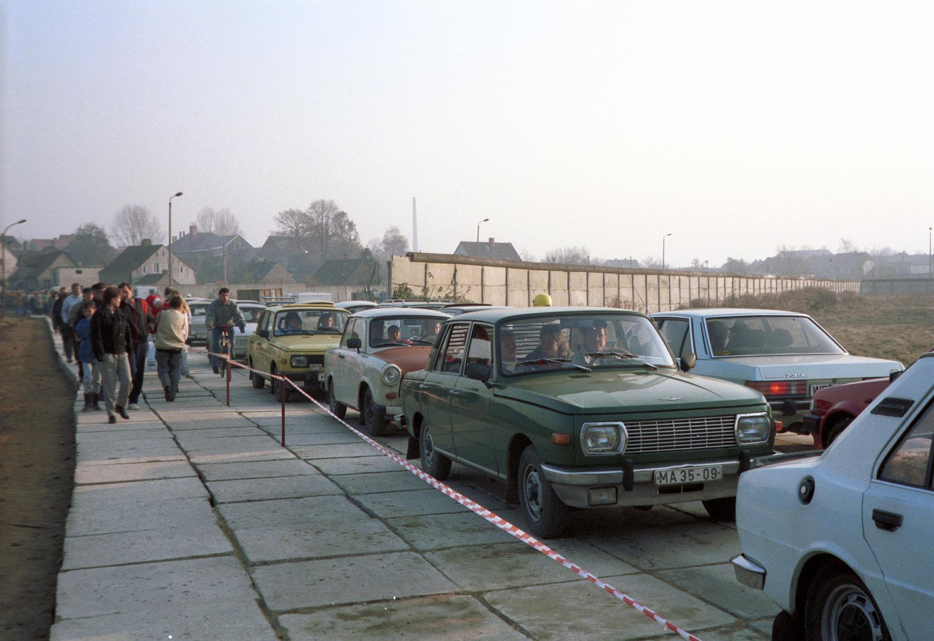 Öffnung der innerdeutschen Grenze