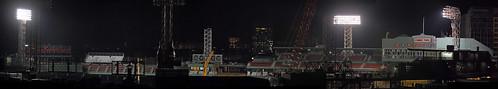 Construction Nightime Pano