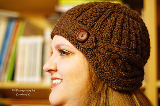 Mink Knitted Helmet Hat