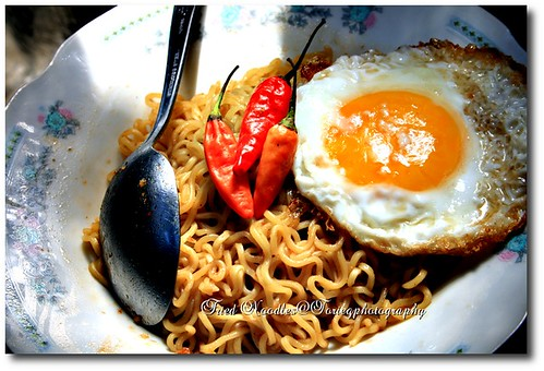 Fried Noodles by agatty@R