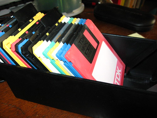 floppies by functoruser, on Flickr