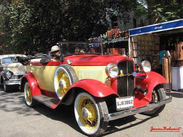 1936 Cadillac Convertible Baby Blue