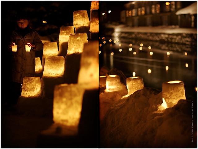 Otaru Snow Gleaming (Snow Lantern) Festival 2008
