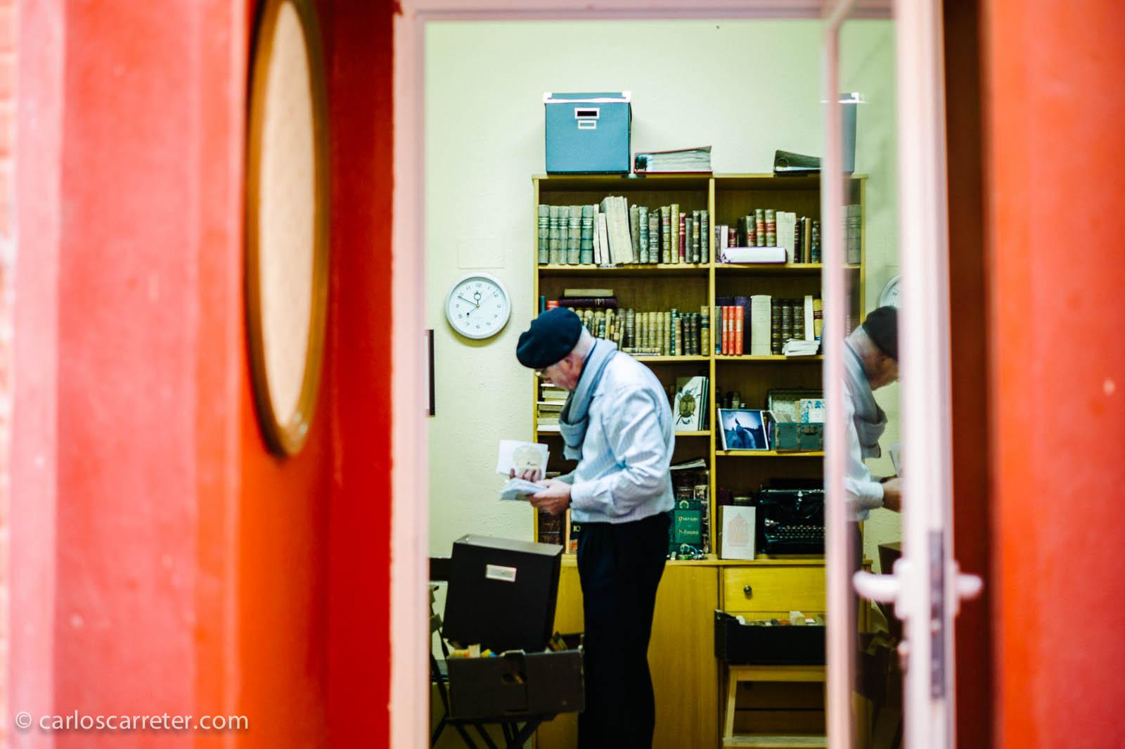 Librería de viejo en la calle de las Armas