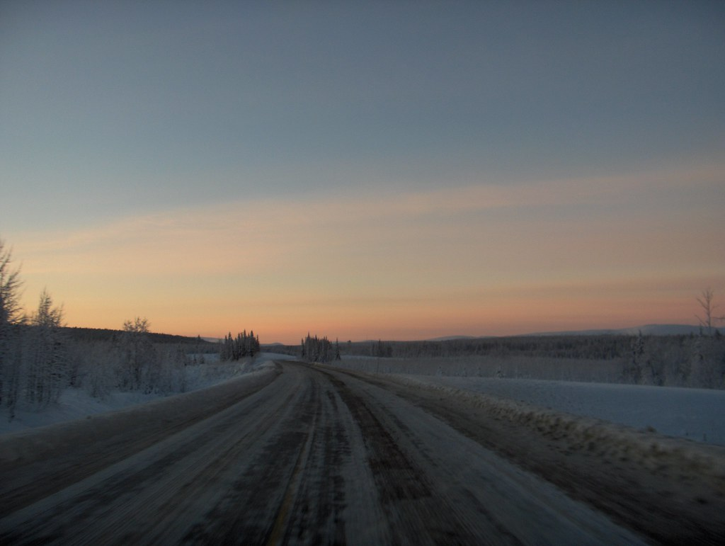 Road to Ylläs