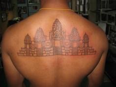 Angkor Wat tattoo