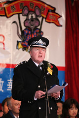 The Metropolitan Police Commissioner delivers his speech at CNY 2008 by Destinys Agent CC Flickr