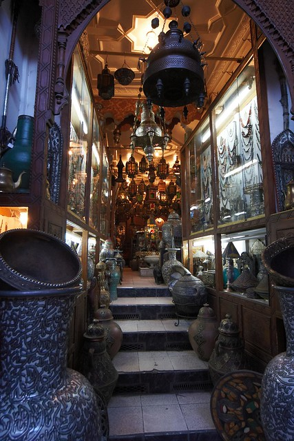 Lantern Shop in the Souk