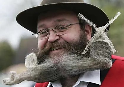 Beards, Moustaches and Facial Hair in History (1/3)