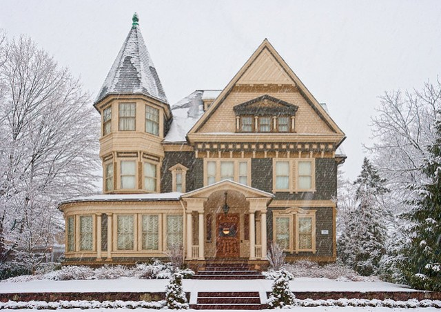 Victorian in winter