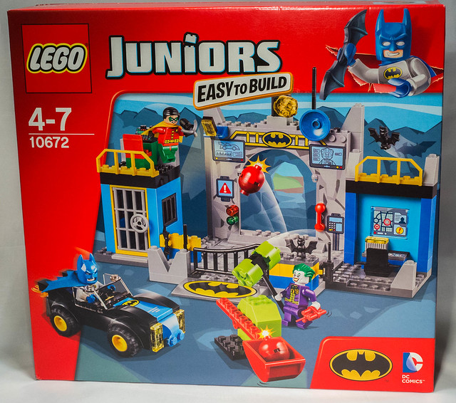 REVIEW LEGO 10672 Juniors - L'attaque de la Batcave