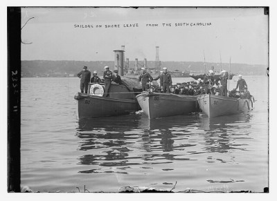 Sailors on shore leave from SOUTH CAROLINA  (LOC)