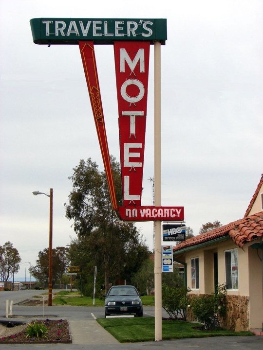 Traveler's Motel - 215 Seventh Street, Williams, California U.S.A. - March 29, 2008