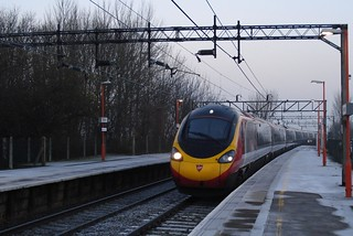 Pendolino Virgin Trains - Runcorn