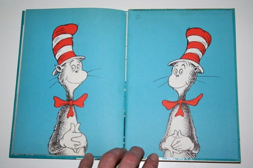 """""""Cat in the Hat"""" Third Printing Front Cover"""