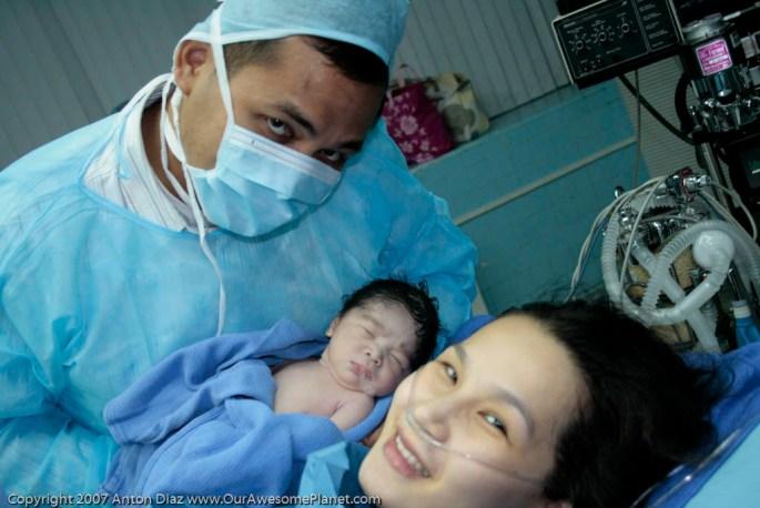 The Birth of Baby Joshua Xavier Diaz-23