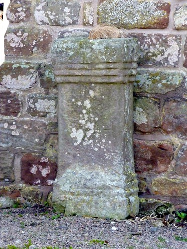 Altar at Drumburgh Castle