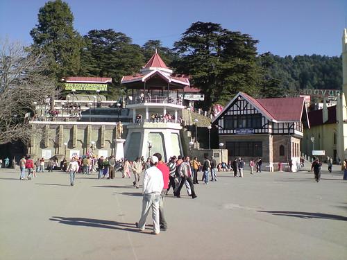The Ridge,  Shimla, Himachal Pradesh
