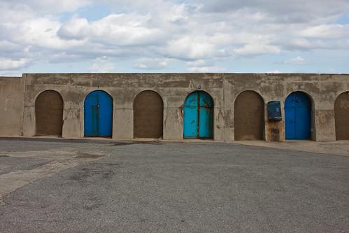Sea Wall, Sidi Fredj by brusselea