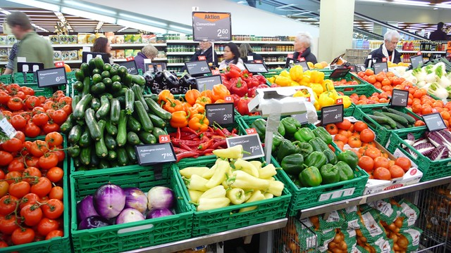 Vegetable in the supermarket