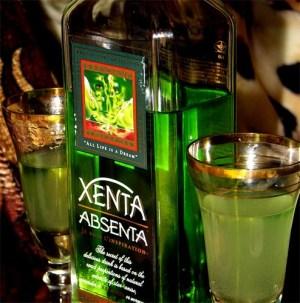 Абсе́нт (фр. absinthe — полынь, Absinthium, Абсинт (греч. απίνθιον — невыпиваемый)) — крепкий алкогольный напиток, содержащий обычно около 70% (иногда 75% или даже 85% и 86%) алкоголя.