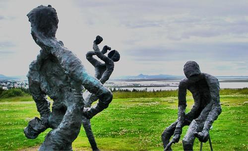 Icelandic Statues by little_frank