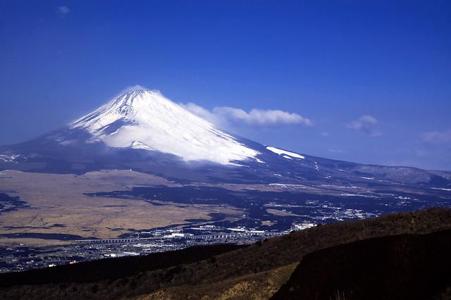 三国峠@芦ノ湖スカイラインからの富士山