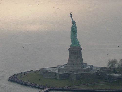 Statue of Liberty - Aerial VIew 1 by dan_dada