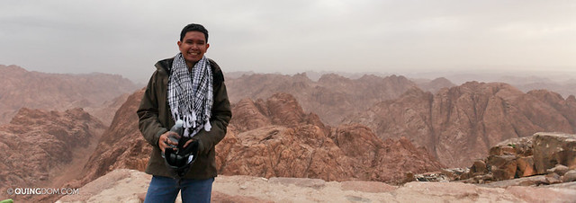 At the Top of Mount Sinai