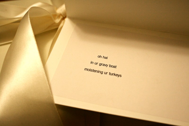 Nerdiest Wedding Card Evar.