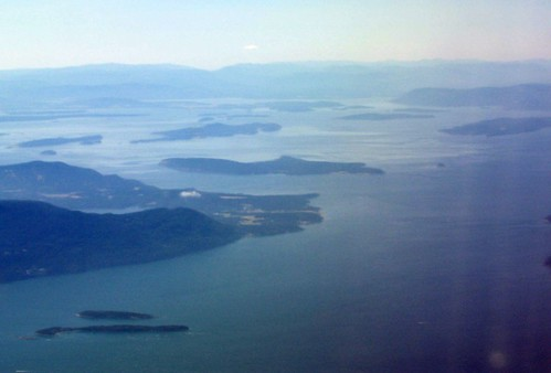 Orcas Island and neighbors, Washington