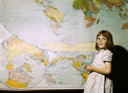 No Known Restrictions: Texas School Girl ca. 1943 by John Vachon (LOC)