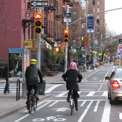 Bike Lane Built for Two