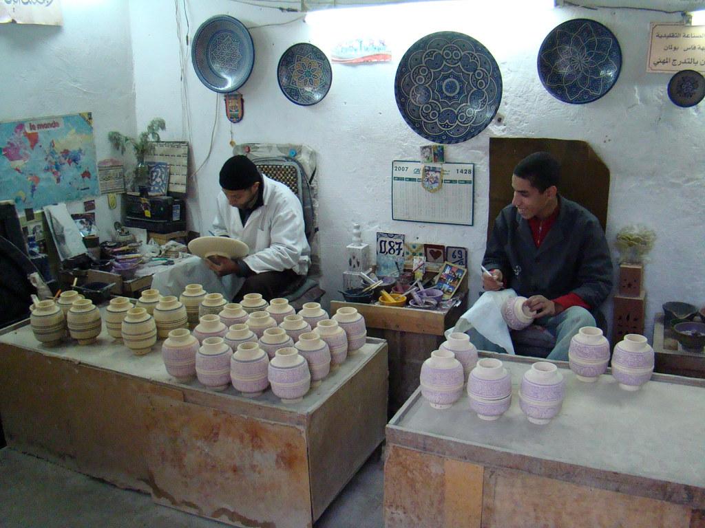 Marruecos Escuela de Ceramistas de Fez 12