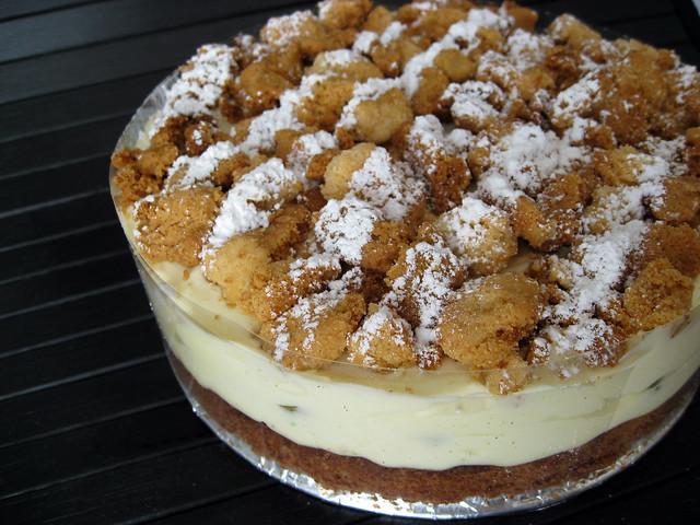 Philadelphia Almond Cake