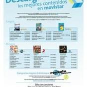 AMPLIA VARIEDAD DE CONTENIDOS OFRECE MOVISTAR DESDE LOS CELULARES