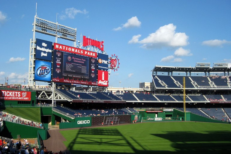 Washington DC - Navy Yard: Nationals Park