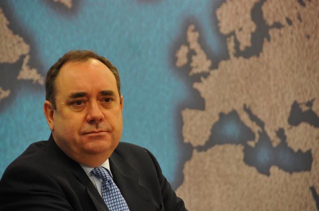 El primer ministro de Caledonia, Alex Salmond. Foto: Saúl Gordillo,Agència Catalana de Notícies