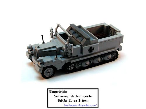 Zugkraftwagen SdKfz 11 de Panzerbricks