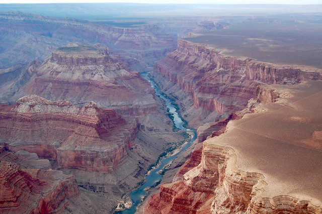 Grand Canyon dall'alto
