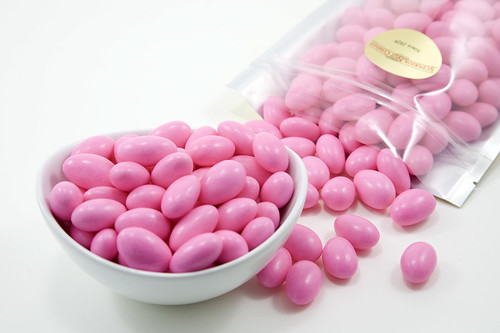 Pink Jordan Almonds by Nutsinbulk
